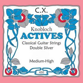 Cuerda Suelta Clásica Knobloch Actives CX 5ª-A Tensión Media-Alta