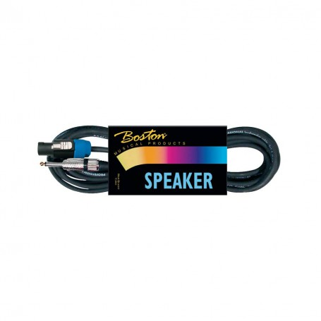 Cable-Altavoz-Boston-2M Jack-Speakon