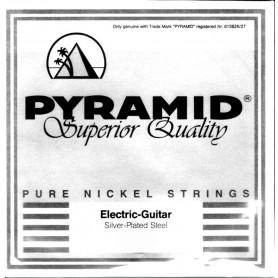 Cuerda Suelta Eléctrica Pyramid 016 Plana