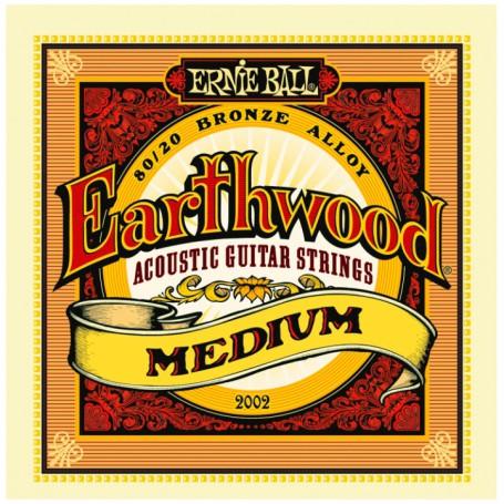 CuerdasAcusticaErnieBallEarthwoodMedium13-56