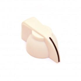 Chickenhead Knob para Potenciómetro Crema