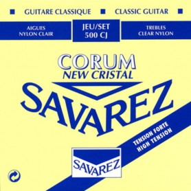 Cuerdas Clásica Savarez 500CJ Corum New Cristal High Tension