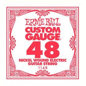Corda Solta Elèctrica Ernie Ball Nickel entorxada 048