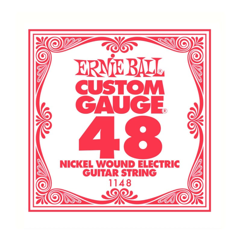 Cuerda-Suelta-Eléctrica-Ernie Ball 048 Entorchada 1148