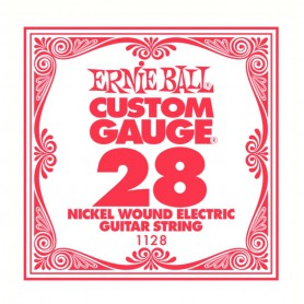 Corda Solta Elèctrica Ernie Ball Nickel entorxada 028