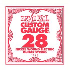 Cuerda Suelta Eléctrica Ernie Ball Entorchada 028