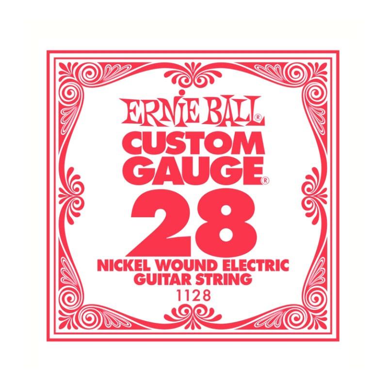 Cuerda-Suelta-Eléctrica-Ernie Ball 028 Entorchada 1128
