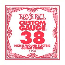Corda Solta Elèctrica Ernie Ball Nickel entorxada 038