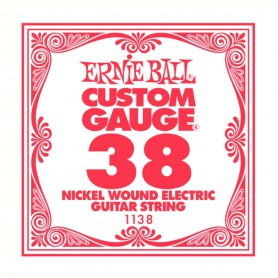 Ernie Ball Nickel Wound Single String 038