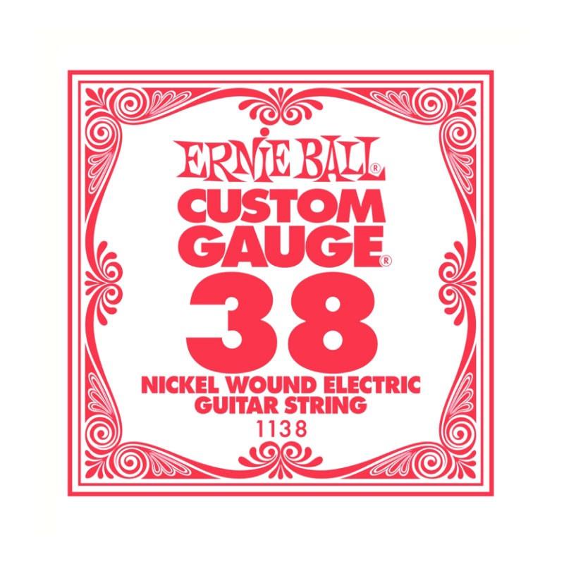 Cuerda-Suelta-Eléctrica-Ernie Ball 038 Entorchada 1138