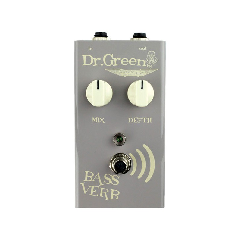 Pedal Bajo Ashdown Dr. Green Bass Verb