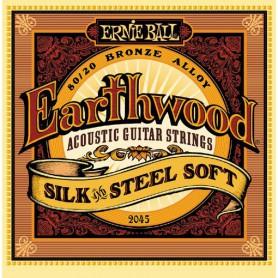 Ernie Ball 2045 Earthwood Acoustic Guitar Strings