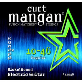 Cuerdas-Eléctrica-Curt-Mangan Nickel Plated 10-46 Regular