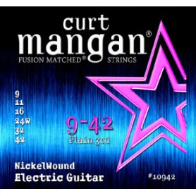 Curt Mangan 09-42 Nickel Wound Electric Strings