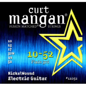 Cuerdas Eléctrica Curt Mangan Nickel Wound 10-52