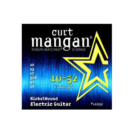 Cuerdas-Eléctrica-Curt-Mangan Nickel Wound 10-52