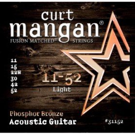 Curt Mangan Phosphor Bronze 11-52 Acoustic Strings