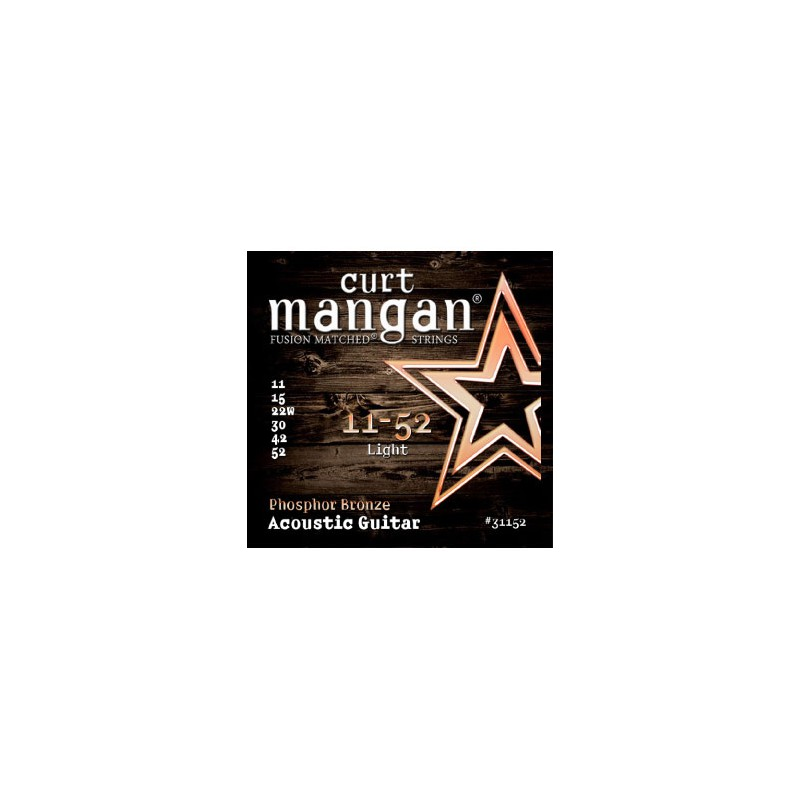 Cuerdas-Acústica-Curt-Mangan Phosphor Bronze 11-52 Light