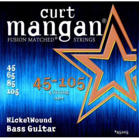 Cuerdas Bajo Curt Mangan Nickel Wound 45-105