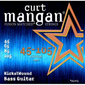 Curt Mangan 45-105 Nickel Wound Bass Strings