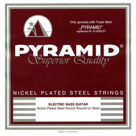 Cuerdas Bajo Pyramid Nickel Plated Steel