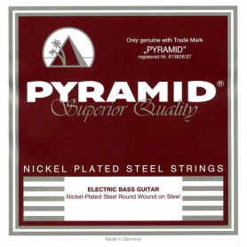 Pyramid Nickel Plated Steel Bass Strings 40-100