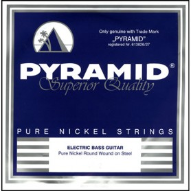 Pyramid Pure Nickel Round Wound Bass Strings 45-105