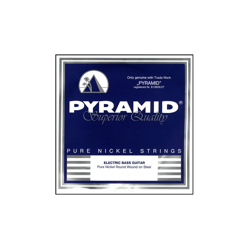 Cuerdas-Bajo-Pyramid-Pure-Nickel-Round-Wound Strings