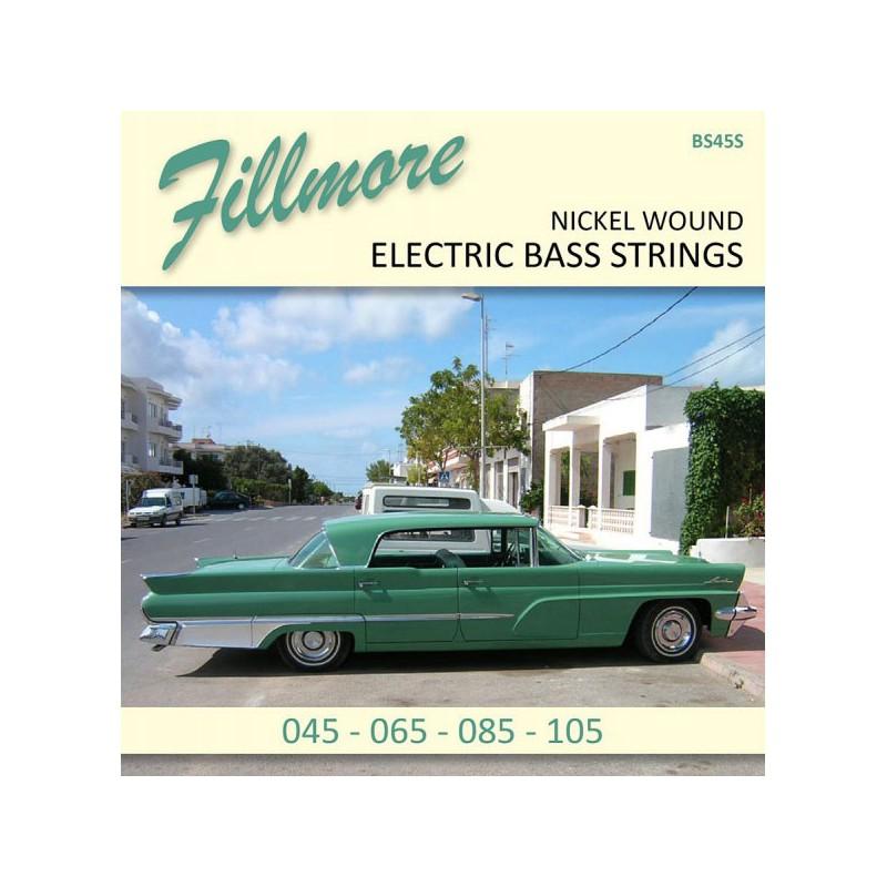 Cuerdas de Bajo Fillmore Nickel Plated 45-105