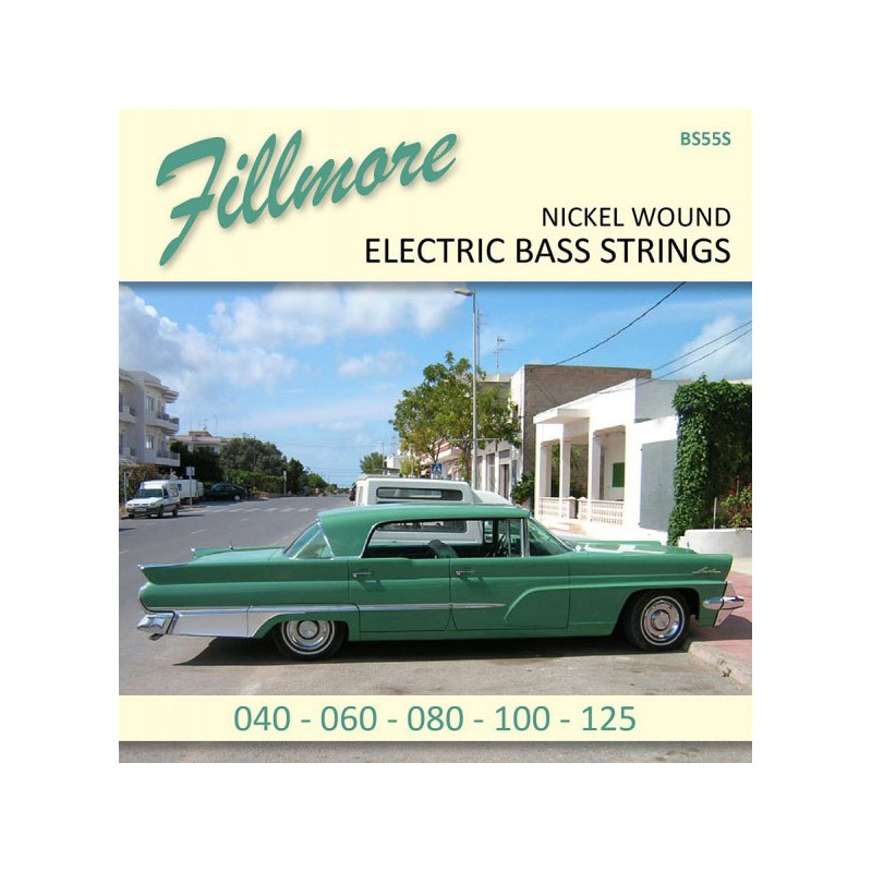 Cuerdas Bajo Fillmore Nickel Plated 45-125