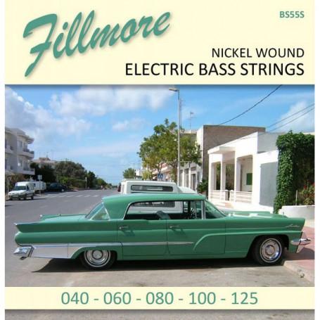 Cuerdas Bajo Fillmore Nickel Plated 45-125