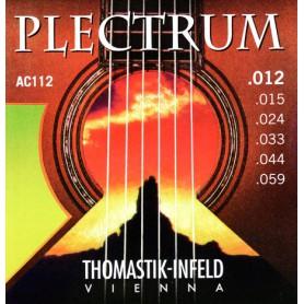 Cuerdas Acústica Thomastik Plectrum AC112 12-59