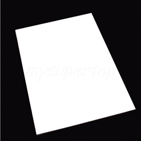 Hoja de Golpeador Blanca 1 capa 30x45cm