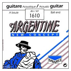 Cuerdas Acústica Savarez Argentine 1610 Gypsy Jazz 10-45
