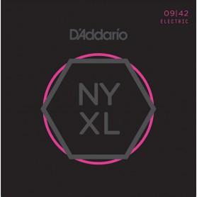 Cuerdas Eléctrica D'Addario NYXL 09-42