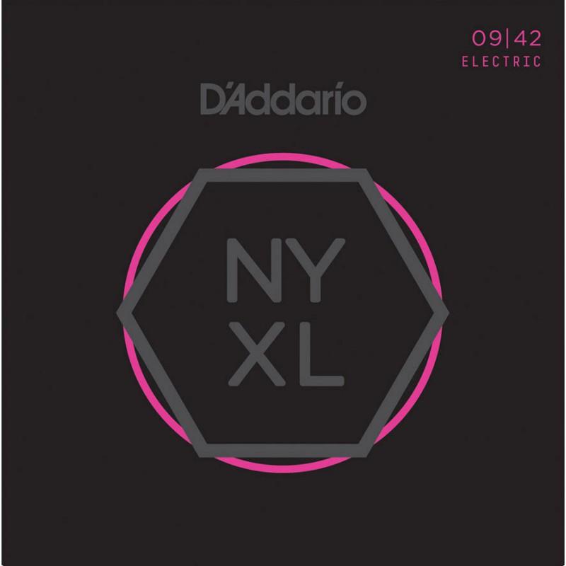 Cuerdas Eléctrica D´Addario NYXL 09-42 Super Light
