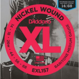 D´Addario EXL157 Baritone Medium 14-68 Electric Strings