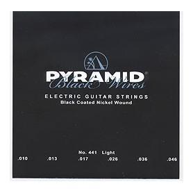 Cuerdas Eléctrica Pyramid Black Wires 10-46