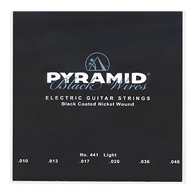 Pyramid Electric Black Wires Guitar Strings 10-46