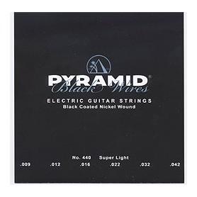 Cuerdas Eléctrica Pyramid Black Wires 09-42 440100