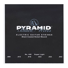 Pyramid Electric Black Wires Guitar Strings 09-42
