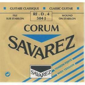 Cuerda Suelta Clásica Savarez Corum 504J D/4ª Tensión Fuerte
