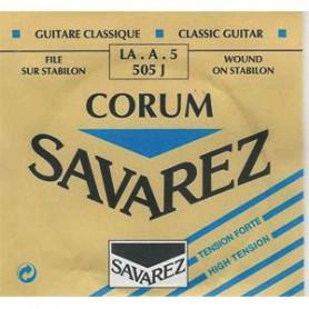 Cuerda Suelta Clásica Savarez Corum 505J A/5ª Tensión Fuerte