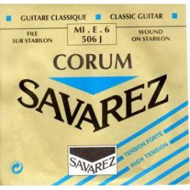 Cuerda Suelta Clásica Savarez Corum 506J E/6ª Tensión Fuerte