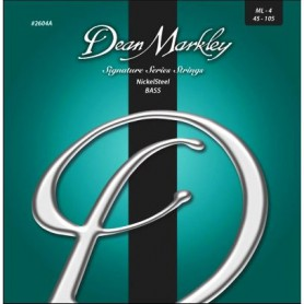 Cuerdas Bajo Dean Markley Nickel Steel 45-105