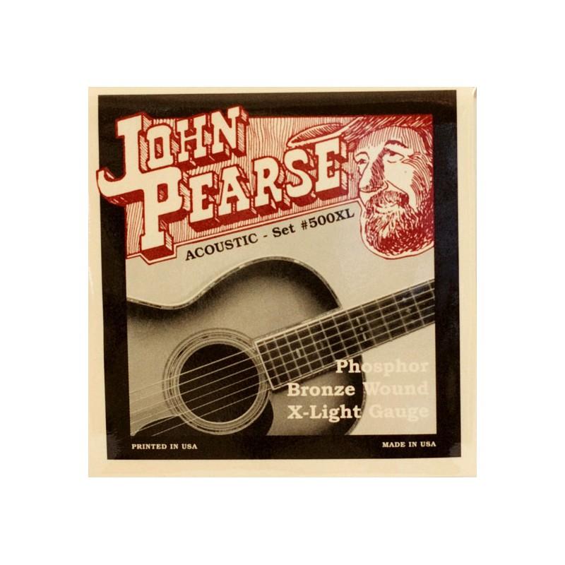 Cuerdas-Acústica-John-Pearse 500XL Phosphor Bronze Extra-Light 10-47