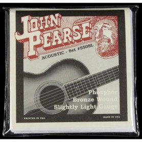 Cuerdas Acústica John Pearse 550SL Phosphor Bronze Slightly Light 11-50