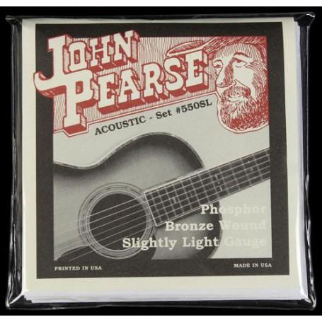 Cuerdas-Acústica-John-Pearse 550SL Phosphor Bronze Slightly Light 11-50