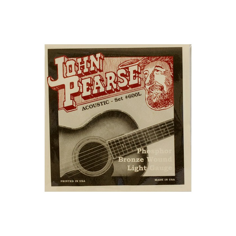 Cuerdas-Acústica-John-Pearse 600L Phosphor Bronze Light 12-53
