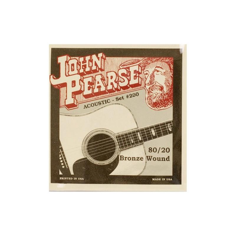 Cuerdas-Acústica-John-Pearse 200L Bronze Light 12-53
